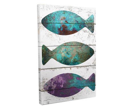 Obraz Fish 30x40 cm