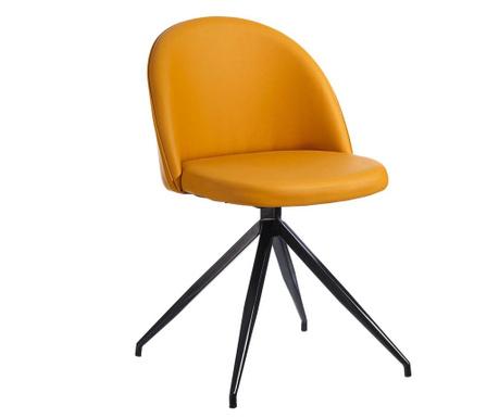 Otočná židle Isid Ochre