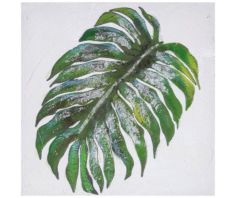Arrowroot  Leaf Festmény 30x30 cm