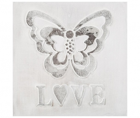 Картина Butterfly Love 30x30 см