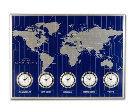 Nástěnné hodiny Meridien Blue