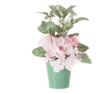 Sztuczny kwiat w doniczce Geranio Pink