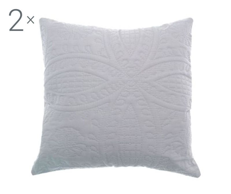Set 2 jastučnice Parisienne Grey 43x43 cm