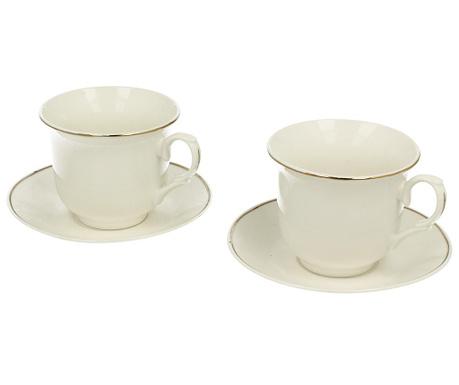 Сервиз 2 чашки и 2 чинийки Diana Classic