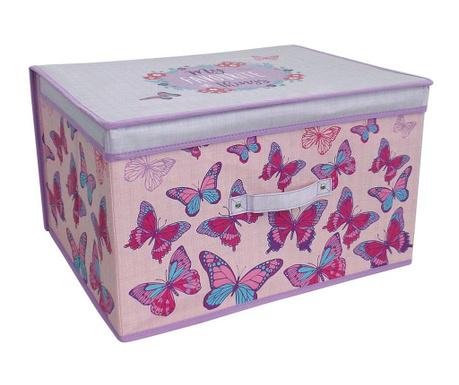 Сгъваема кутия с капак за съхранение Butterfly