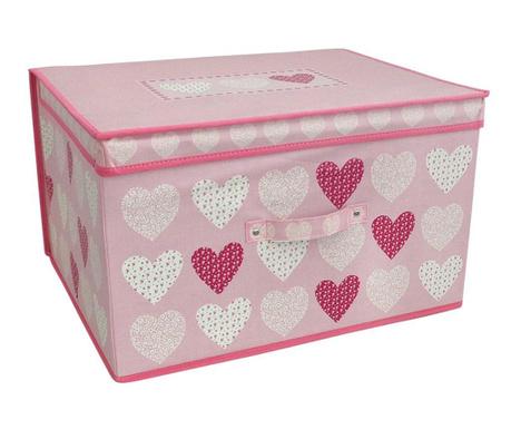 2e9d0413b3e Сгъваема кутия с капак за съхранение Hearts