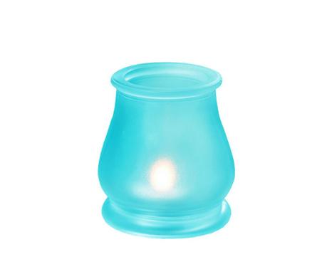Pele Turquoise Gyertyatartó