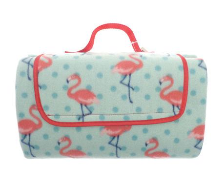 Odeja za piknik Flamingo