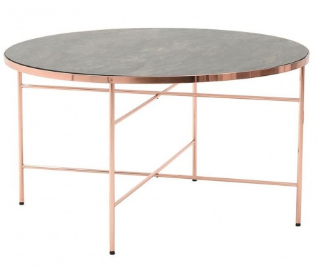 Gia Rose Gold Asztalka