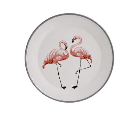 Servirni krožnik Flamingo