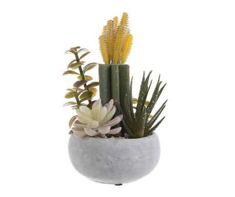 Sztuczne rośliny w doniczce Daffodil