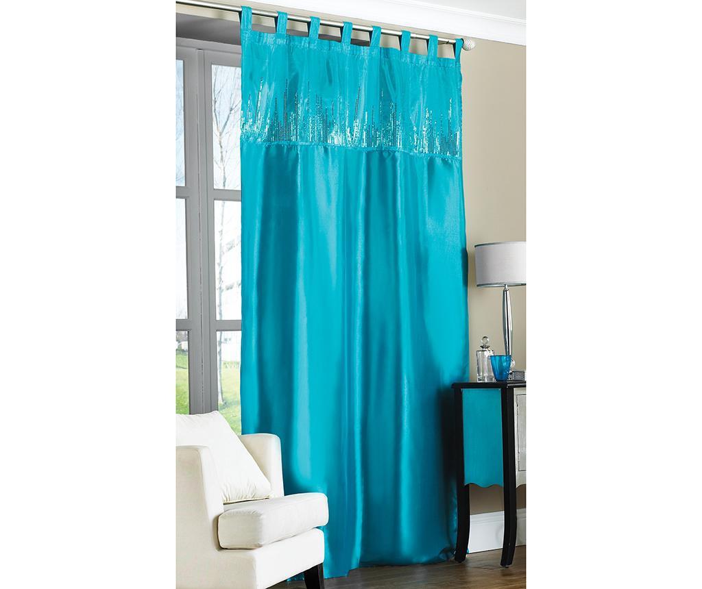 Draperie Taffeta Turquoise 145x228 cm