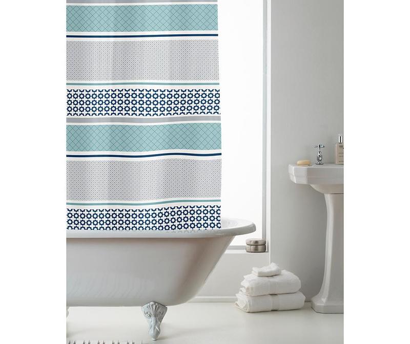 Zavesa za prho Moro 180x180 cm