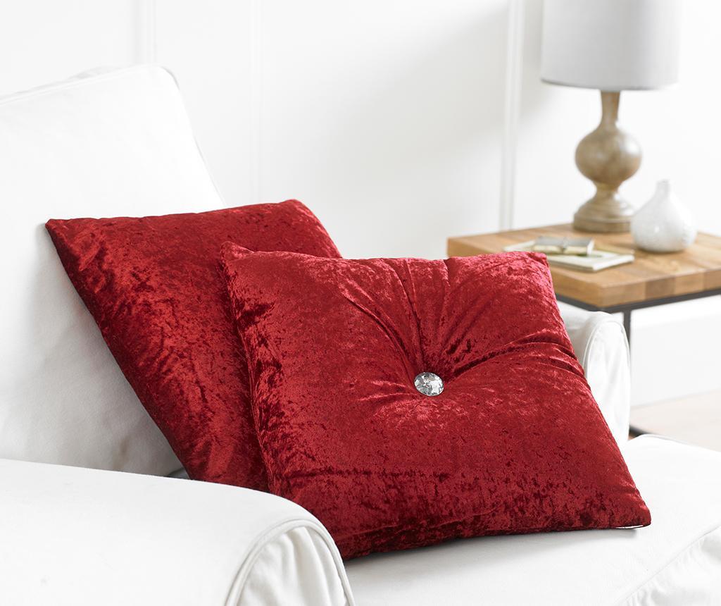 Perna decorativa Opulence Red 43x43 cm