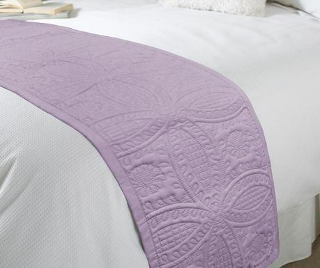 Bieżnik  na łóżko Parisienne Mauve 45x220 cm