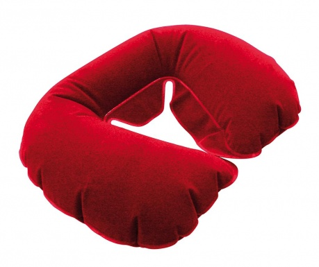 Nadmuchiwana poduszka podróżna Bitt Red