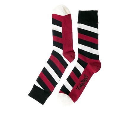 Skarpety męskie Contrast Stripes 41-45