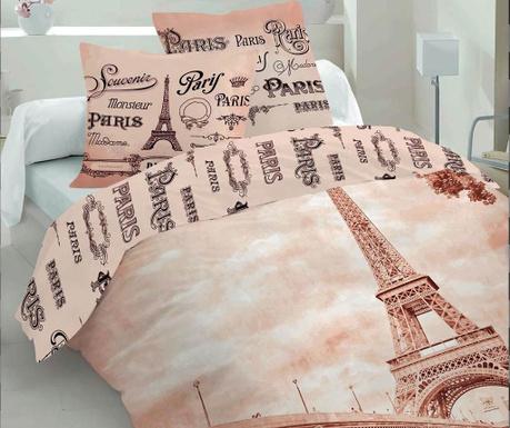 Σετ κλινοσκεπάσματα Μονό Extra Supreme Ranforce 3D Paris Romance