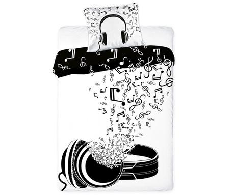 Σετ κλινοσκεπάσματα Μονό Extra Ranforce Music Vibe