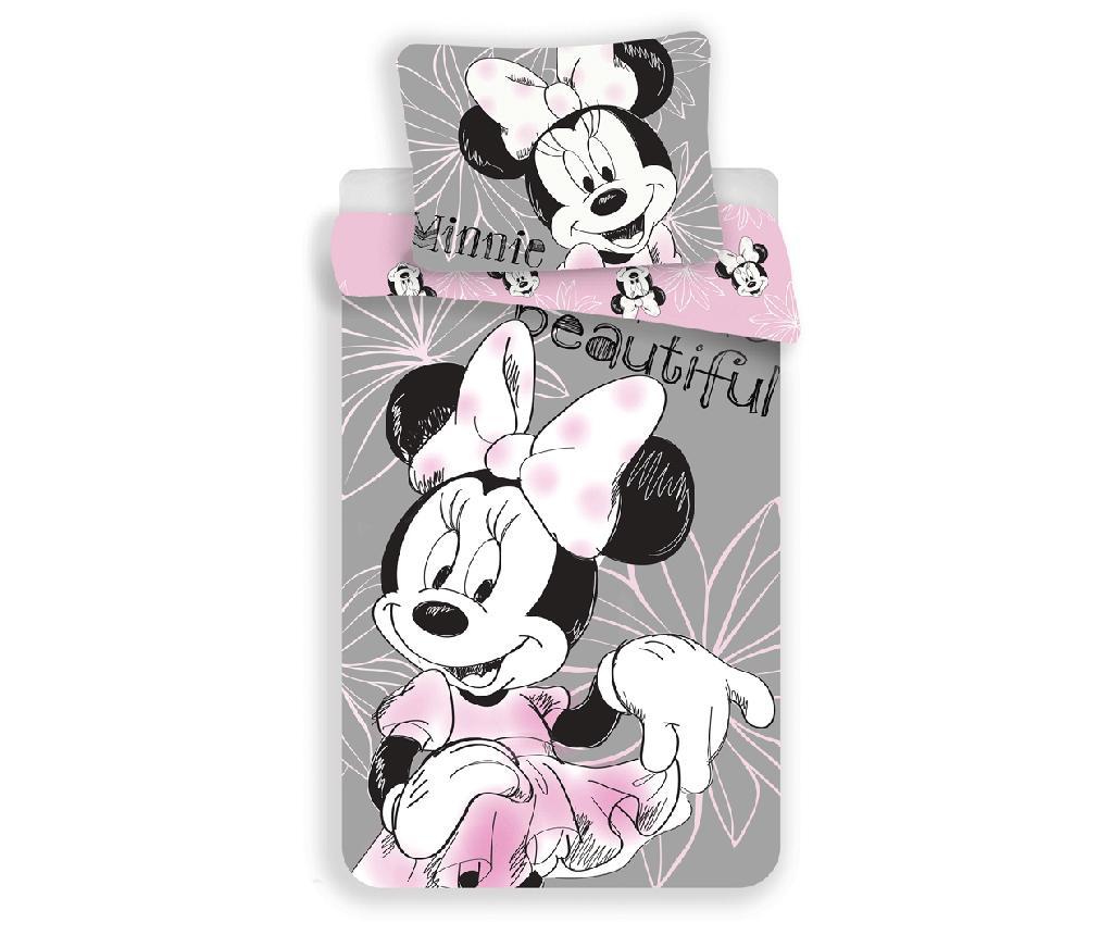 Set posteljina Single Ranforce Minnie Mouse Beautiful 140x200