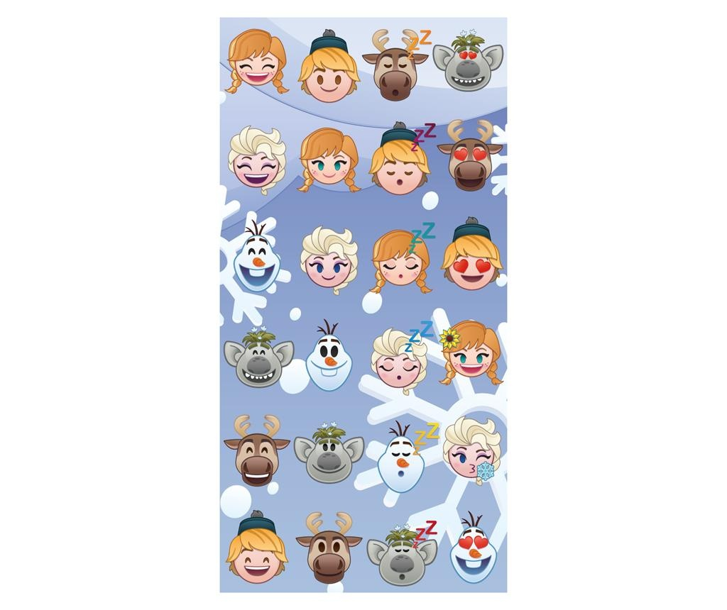 Brisača za plažo Frozen by Disney Emoji 70x140 cm