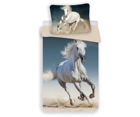 Set de pat Single Ranforce Horse