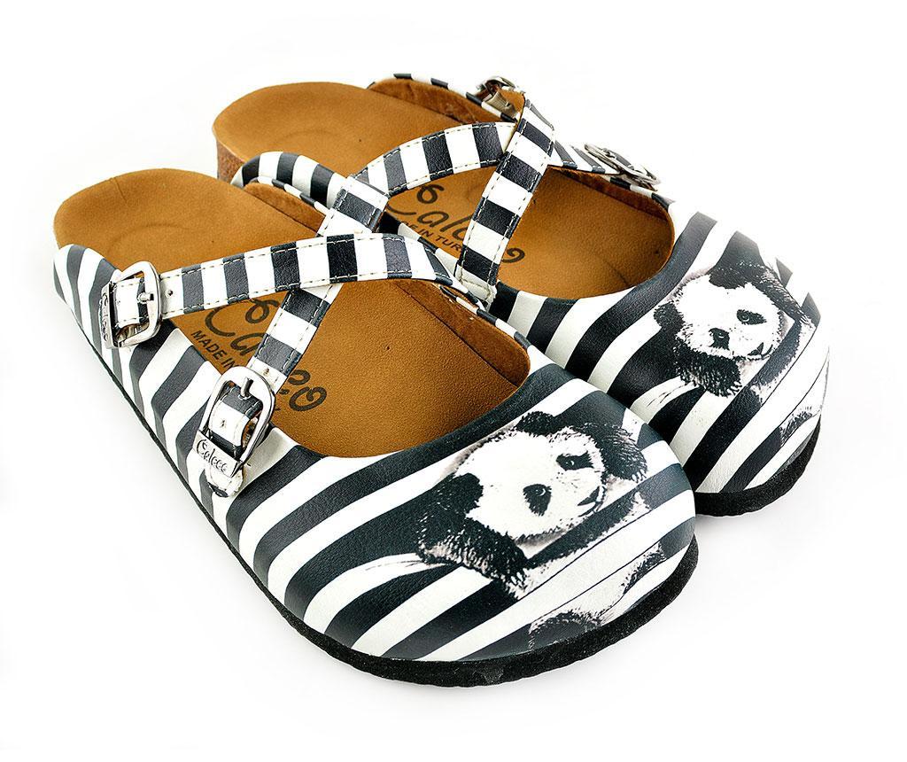 Dámské pantofle Panda 35