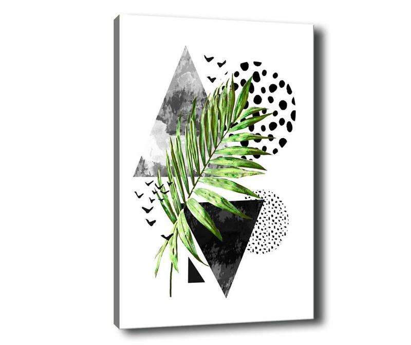 Leaf Collage Kép 40x60 cm