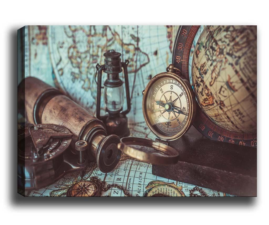 Tablou Compass 40x60 cm
