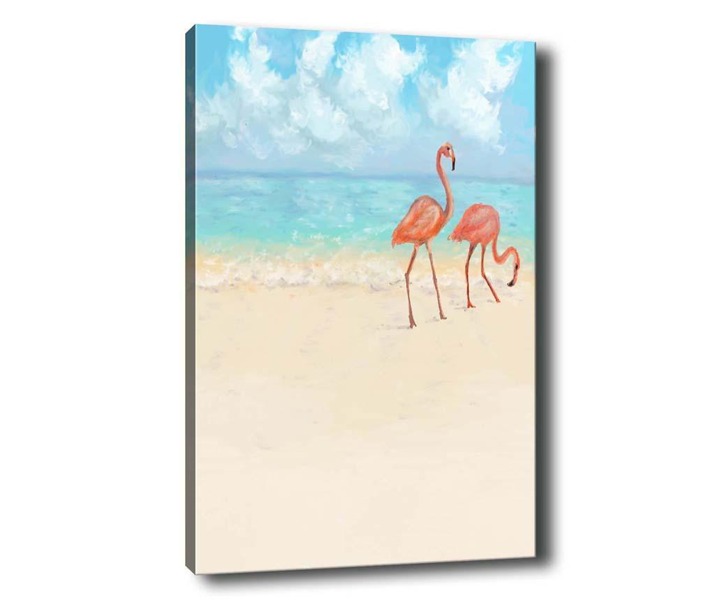 Obraz Flamingo 40x60 cm