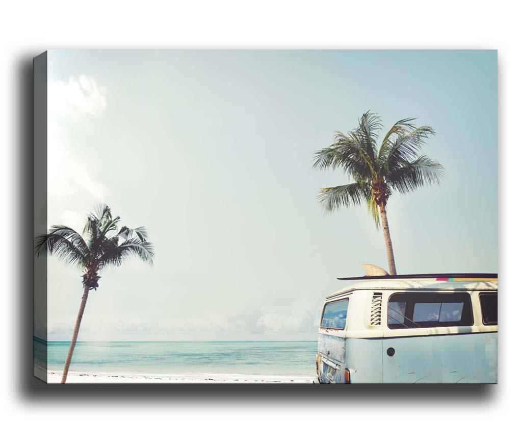Van by the Beach Kép 40x60 cm