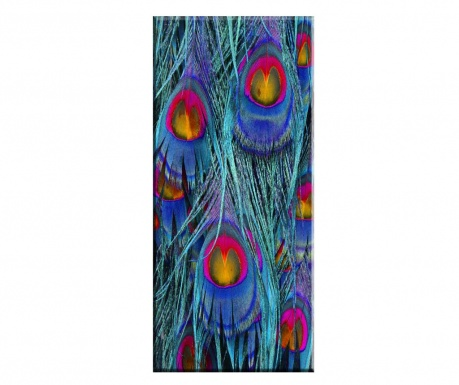 Tablou Peacock Feather 60x140 cm