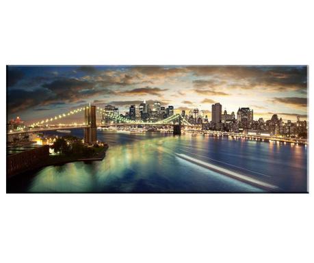 Картина Cityscape 60x140 см