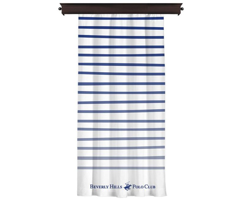 Zastor Polo Club Blue 140x260 cm