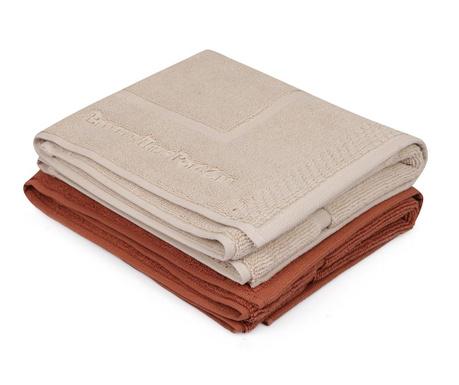 Set 2 ručnika za noge Layla 50x86 cm