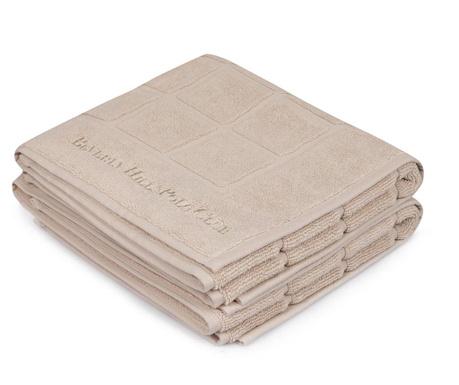 Set 2 ručnika za noge Pepper 50x80 cm