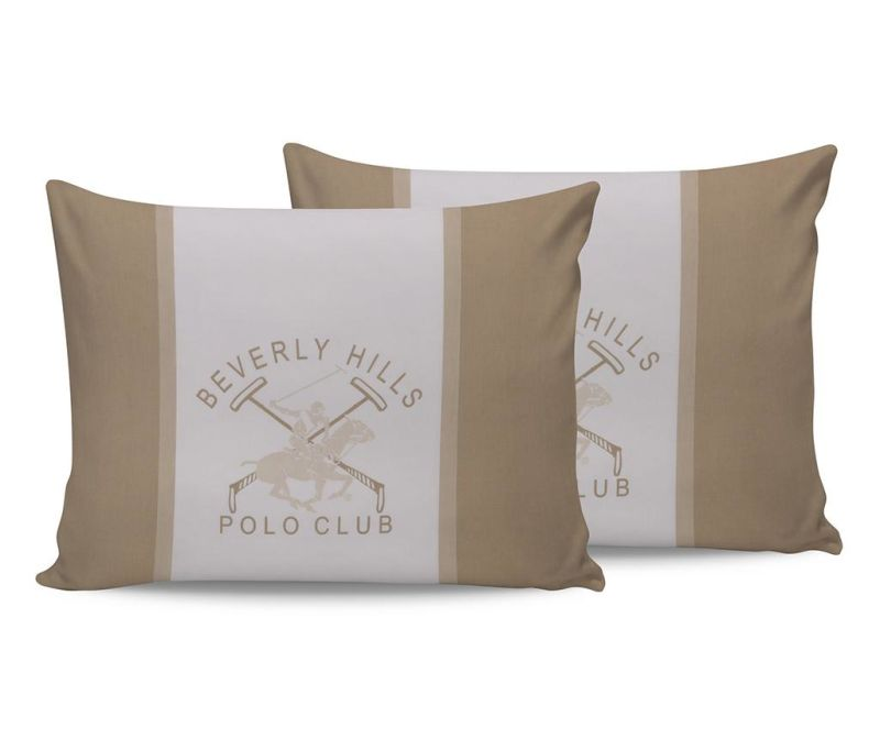 Set 2 fete de perna Beverly Hills Cream White 50x70 cm