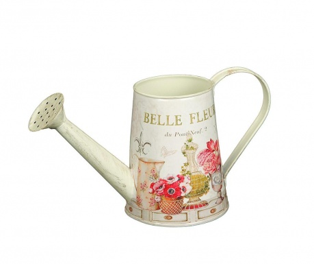 Dekorační kropicí konev Belle Fleur Can