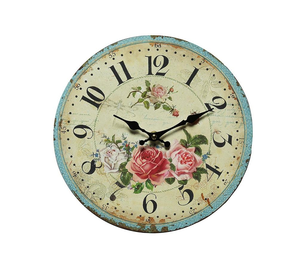 Ceas de perete Romantic Rose
