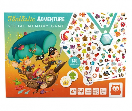 Joc de memorie Fantastic Adventure
