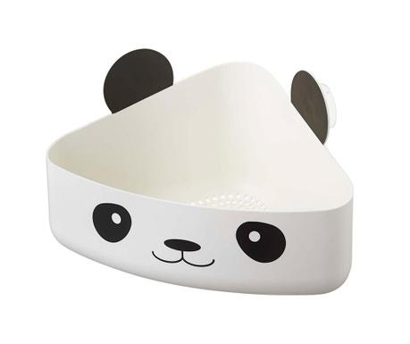 Suport de colt pentru accesorii de baie Animal Basket Panda