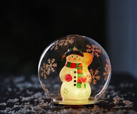 Светеща декорация Bubble Snowman