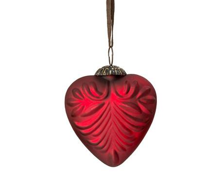 Διακοσμητική μπάλα Heart Matt