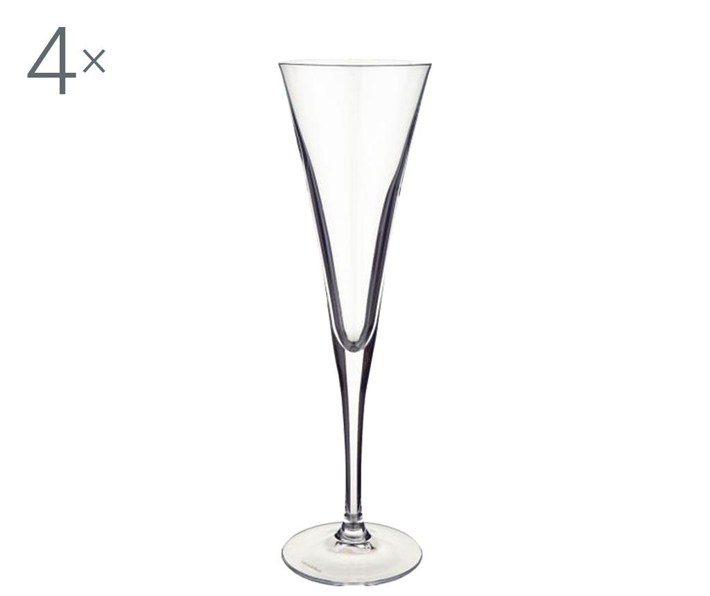 Purismo 4 db Pezsgőspohár 200 ml