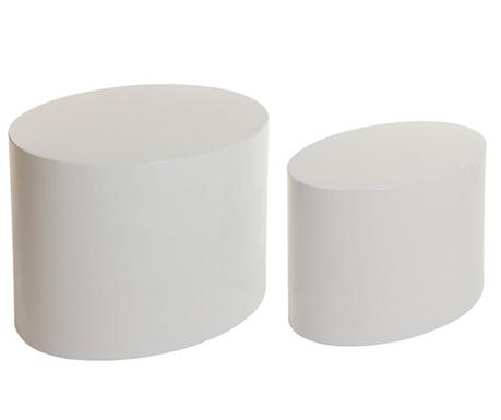 Set 2 mizic Nixie Oval