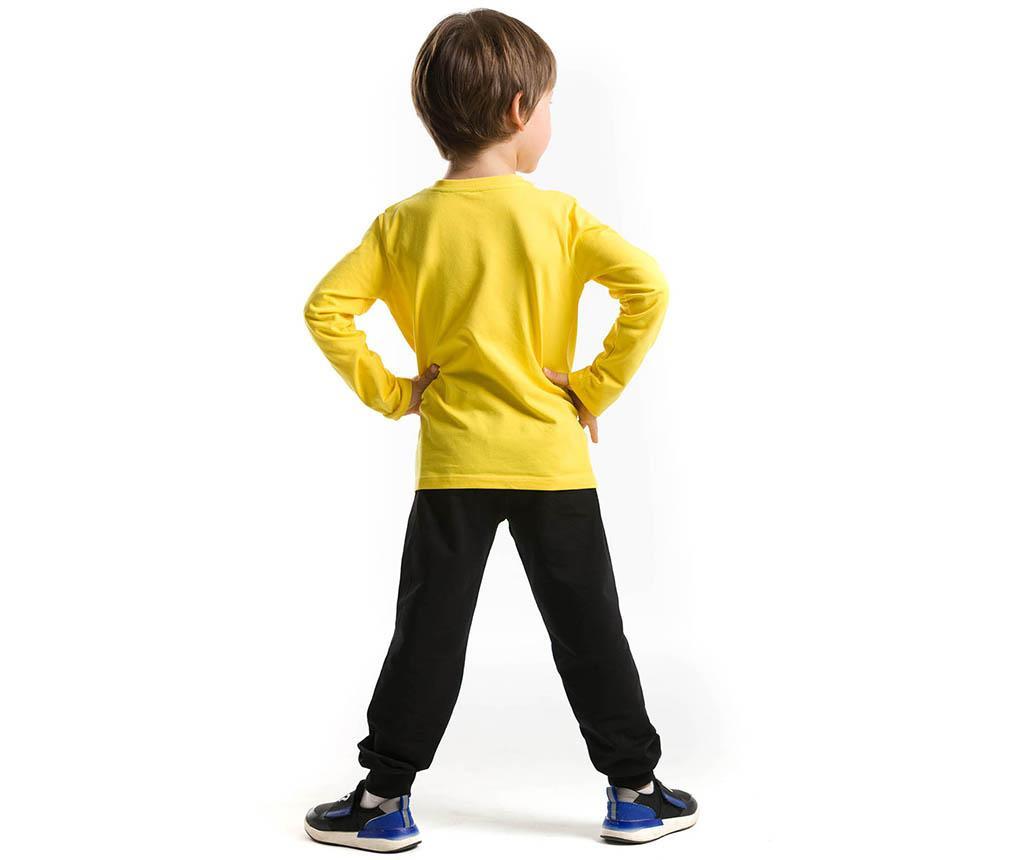 Set bluza si pantaloni pentru copii Pirate Emoji 8 ani