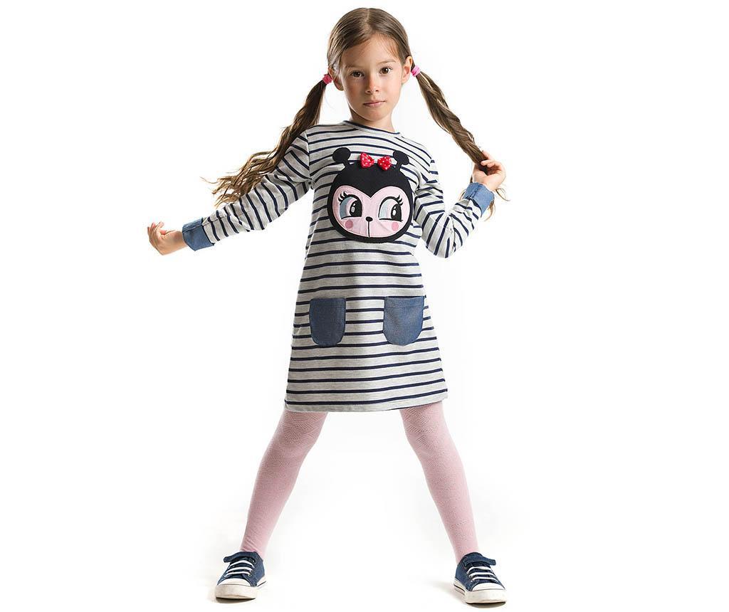 Dječja haljina dugih rukava Ladybug 6 god.