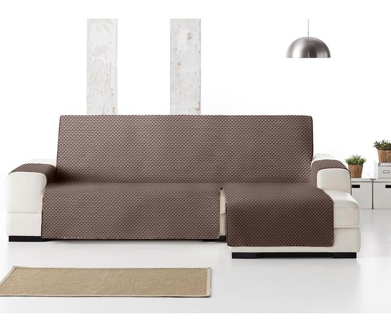Ватиран калъф за десен ъглов диван Oslo Brown 290 см
