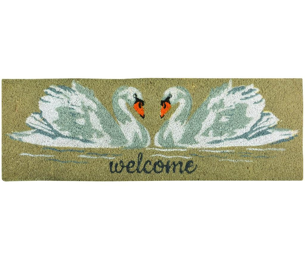 Wycieraczka Swan 25x75 cm