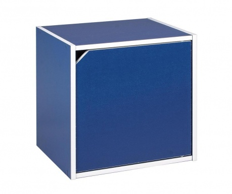 Modularni element Cube Door Blue